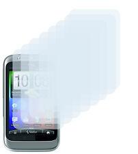 8 x lámina protectora htc wildfire s claramente clear protector de pantalla Screen Protector