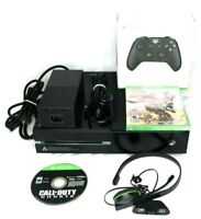 Xbox One Model 1540 - 500gb Console Bundle + 1 New Sealed Game + Controller Lot