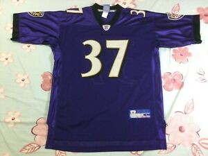 Vintage Baltimore Ravens Deion Sanders #37 Football-NFL Reebok Jersey SizeL