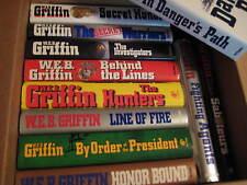 Original Vintage Lot of 11 W E B GRIFFIN Military Hardcover Novels Books 257