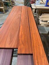 10 Board Feet of Beautiful Paduak Lumber Free Shipping!
