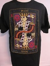 NEW - HIM / H.I.M. BAND / CONCERT / MUSIC T-SHIRT EXTRA LARGE