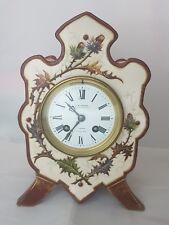 J.W. BENSON LONDON JAPY FRERES 8 DAYS ALARM BELL FRENCH MANTEL CLOCK
