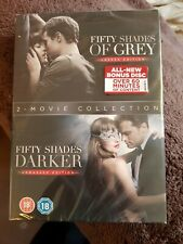 Fifty Shades Darker + Fifty Shades of Grey Double Pack      Brand new and sealed