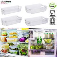 1 pc of Stackable Fridge Refrigerator Organiser Tray Holder Storage Kitchen Rack
