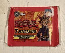 Yu-Gi-Oh! Stickers - Topps 1996 1st Edition - 1 Gold & 1 Silver Foil Per Pack