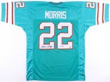 "Mercury Morris Signed Dolphins Jersey Inscribed ""17-0"" (CAS) 1972 Perfect Season"
