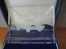 VW Volkswagen Santana 2000 Shanghai China Geschenk Skulptur Glas BOX Aufsteller