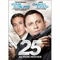25 Action Movies DVD Box Set Dennis Hopper, Ryan Gosling, Daniel Craig