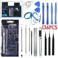 136PCS Repair Opening Tool Kit Screwdriver Set For Mobile Phone Laptop PC Phone
