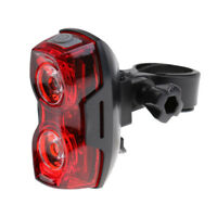 2Pcs LED Super Bright Cycling Bicycle Bike Safe Rear Tail Light Lamp 3 Modes