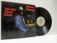 STEVE YOUNG honky tonk man LP EX/EX-, ROUNDER 3087, vinyl, album, country, usa,
