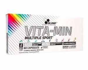 OLIMP VITA-MIN MULTIPLE SPORT 60-300 caps VITAMIN & MINERALS Free Shipping