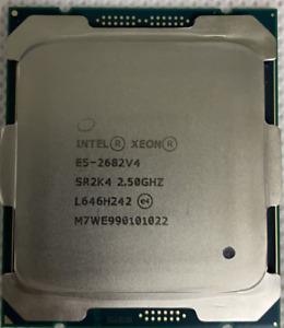 Intel xeon sr2k4 E5-2682V4 16-core 2.5G processor  Higher than E5-2690V4 CPU