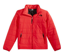 The North Face Tamburello Big Boys Jacket Size M-XL Water Resistant Red Big Boys