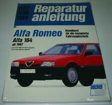 Reparaturanleitung Alfa Romeo 164 mit 2,0 l Motor Twin Spark / 3,0 l V6 / QV NEU