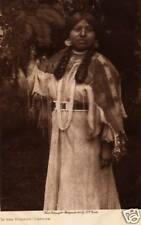 IN THE FOREST-CAYUSE, 1910 vol. 8: EDWARD CURTIS - Original TISSUE Photogravure