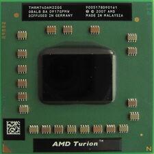 CPU AMD Turion 64 X2 RM-74 mobile RM74 TMRM74DAM22GG socket S1 processore dual