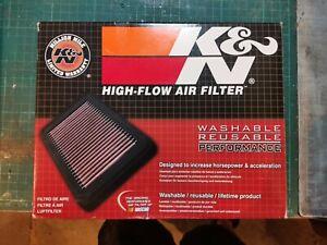 K&N High Flow Air Filter YA-1113 For YAMAHA 113 RAY Z FASCINO CYGNUS ALPHA 13