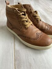 Mens Tan French Connection Boots Size 10