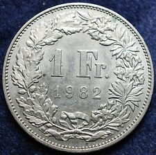 1982  Svizzera Switzerland  1  Franc  1982