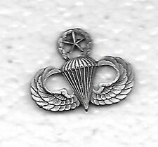 A30 US ARMY PARACHUTISTS MST  OLD FINISH JUMP WINGS