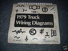 1979 FORD F100 F150 F250 F350 TRUCKS WIRING DIAGRAMS SCHEMATICS SHEETS SET