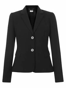 HOBBS Ladies Celina Black Single Breasted Suit Jacket UK16 EU44 BNWT RRP159