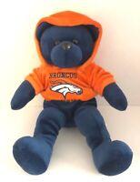 "Denver Broncos Forever Collectibles Plush Bear Stuffed Animal 14"" Football NFL"