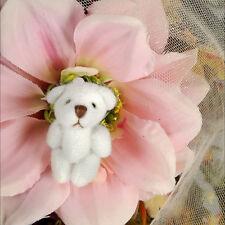 Dollmore For Doll - Donggri Bear (White:3.2cm)