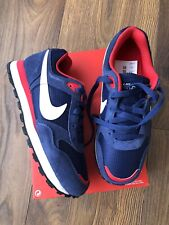 New Nike MD Runner GS Womens Blue Trainers Shoes Size UK 3 EUR 35.5
