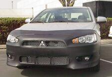 Colgan Front End Mask Bra 2pc. Fits Mitsubishi Lancer GTS 2008-2013 W/Lic.Plate