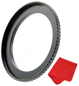 Breakthrough Photography 49mm to 82mm Step-Up Lens Adapter Ring for Filters, of