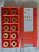 10 Sandvik Coromant RCHT 13 04 00-KL H13A  Carbide Milling Inserts Sweden Qty