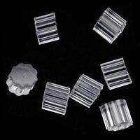 Petal Style Earring Wire Stopper (100PCS) Earring Safety Backs Rubber WG