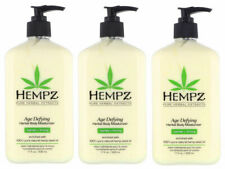 Hempz AGE DEFYING Lotion Herbal Body Moisturizer After Tan Lotion  3Pack - 17 Oz