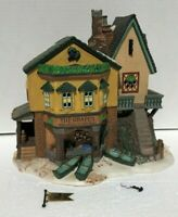 Department 56 THE GRAPES INN Christmas Snow Village Lighted House 1996 limited