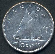 CANADA 10 Cents 1964  AG