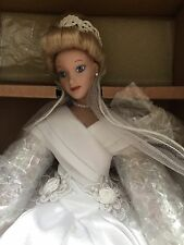 "Disney ""Cinderella Bride"" Porcelain Doll by Ashton-Drake Galleries #SA125"
