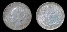Netherland Wilhelmina I 25 cent 1941