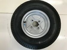 """500x10 Trailer wheel and Tyre 4 Stud 4""""pcd 4 ply"""