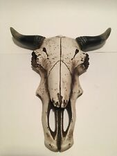 Rustic White Cow skull Country Home Decor Wall Hanging