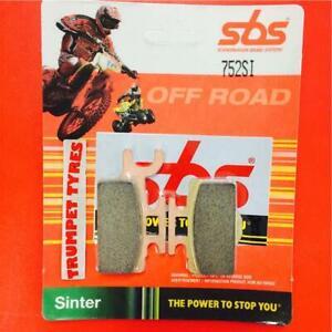 Kawasaki KX 65 00 > ON SBS Front Off Road Sinter Brake Pads EO QUALITY 752SI