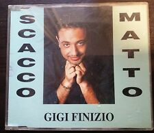 Gigi Finizio Scacco Matto  Cd Single Promo  2 tracks 1994