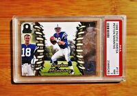 1998 Pacific Omega #101 PEYTON MANNING Rookie Colts PSA 7