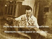 Old 1915 Creepy Scary Odd Weird Strange Doctor Cadaver Dissection/Autopsy Photo