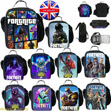 Fortnite Battle Royale Insulated Lunchboxes Girls Boys School Bag Snack Bags