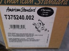 American Standard T375240.002 Colony bath & shower trim kit