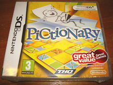 PICTIONARY ** NEW & SEALED **  Nintendo Ds Game