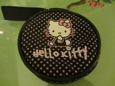 Hello Kitty Ladies Round Purse With Wrist Strap